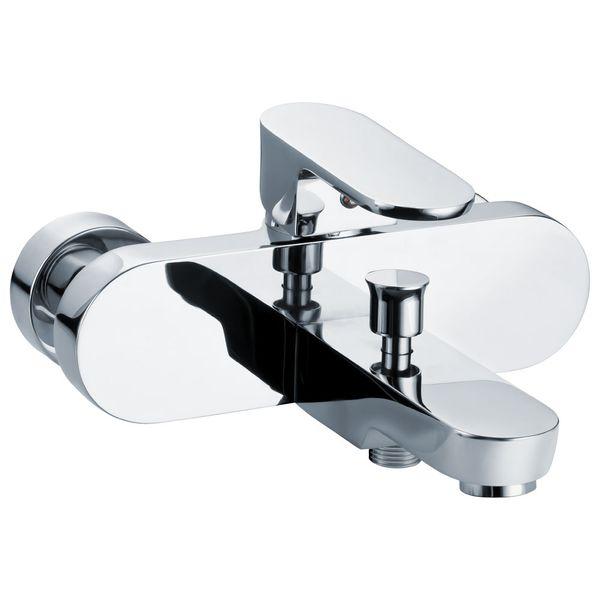 Badewannen Einhebelmischer Mischbatterie Wannenarmatur Armatur Chrom Sanlingo Serie SAFA