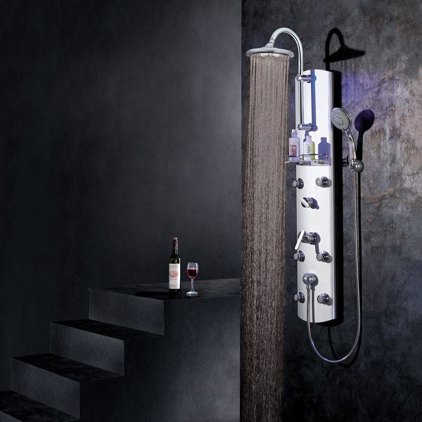 Aluminium Shower Panel Shower Column from Sanlingo – Bild 2