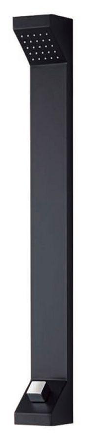 Aluminium Duschpaneel Komplettdusche Duschsäule Schwarz Regendusche Sanlingo