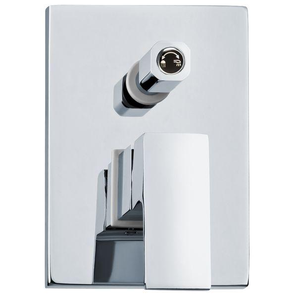 Komplett Unterputz Duschset Duschsystem Eckig 2 Wege Chrom Regendusche Sanlingo – Bild 4