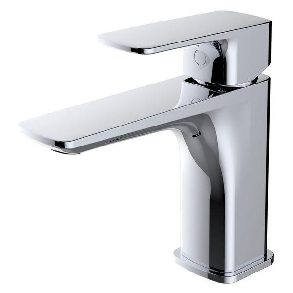Waschbecken Waschtischarmatur Armatur Wasserhahn Mischbatterie Einhebelmischer Chrom Sanlingo Serie DINA