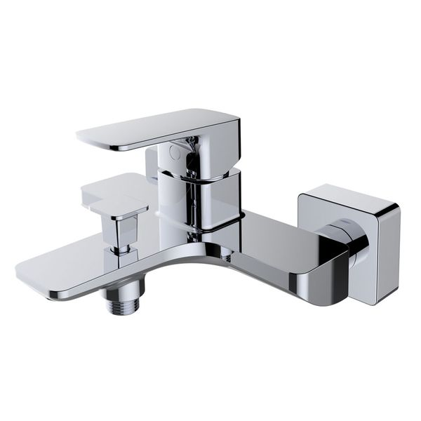 Modern Bath Bathtub Mono Tap Mixer Filler Chrome Sanlingo DINA Series – Bild 1