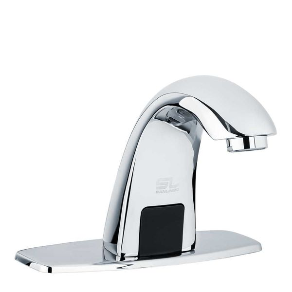 Sanlingo Chrome IR Infrared Water Tap Automatic Wash Basin Cold Water – Bild 1