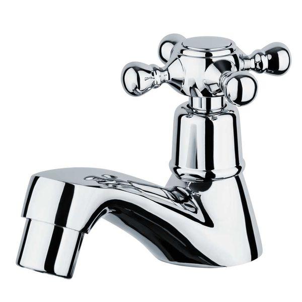 Nostalgia Retro Mono Tap Mixer Washbasin Cold Water Chrome Sanlingo – Bild 1