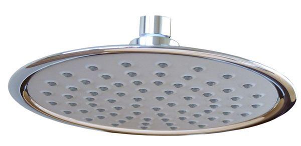 Design Duschkopf Regenschauer Regendusche Sanlingo Chrom Rund Ø21cm – Bild 1