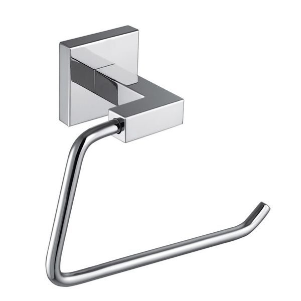 Bathroom Toilet Paper Roll Holder wall Mounting Angular Chrome Sanlingo – Bild 2
