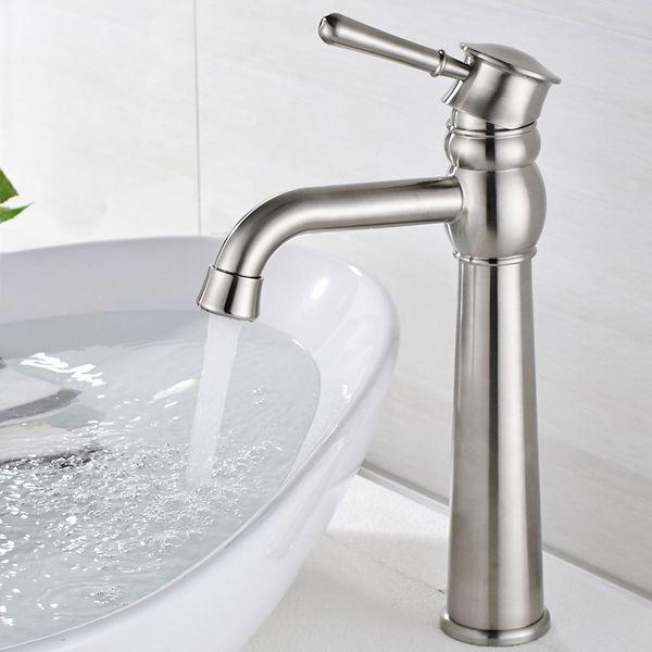Bathroom Wash Bowl Wash Basin Sink Mono Tap Mixer Stainless Steel Sanlingo  – Bild 3