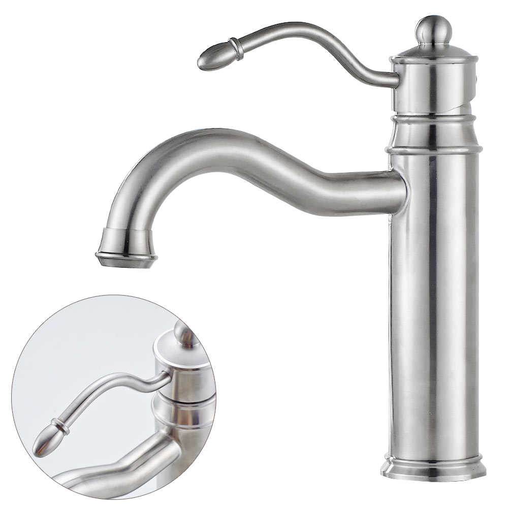 Armatur waschtisch wasserhahn waschbecken einhebel for Waschbecken edelstahl