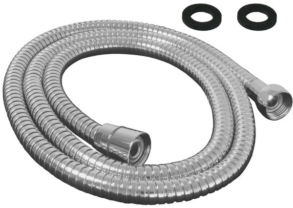 Flexible Shower Hose 150cm Chrome Metal Sanlingo – Bild 1