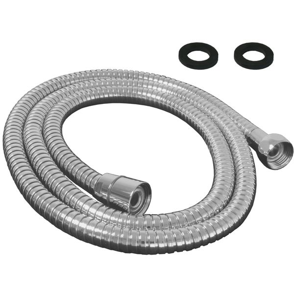 Flexible Shower Hose 150cm Chrome Metal Sanlingo – Bild 2