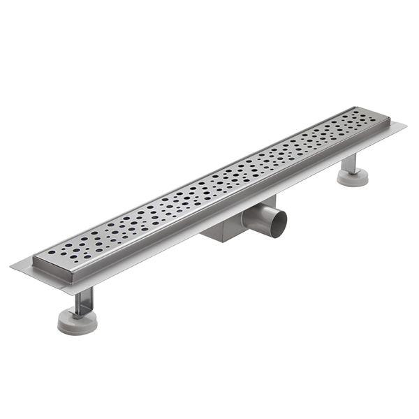 Shower Drain Floor Drain Siphon Shower 50 - 120 cm 7 Pattern Stainless Steel V2Aox – Bild 5