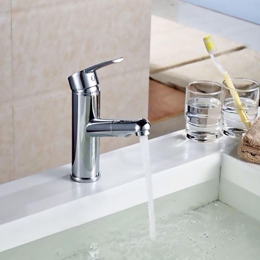 Robinet salle de bains bassin gigognes overhead-shower pour hairwashing Sanglingo