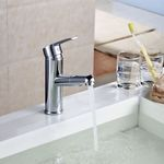 Pullout Spray Wash Basin Bathroom Tap Overhead-shower for Hair washing Sanglingo 001