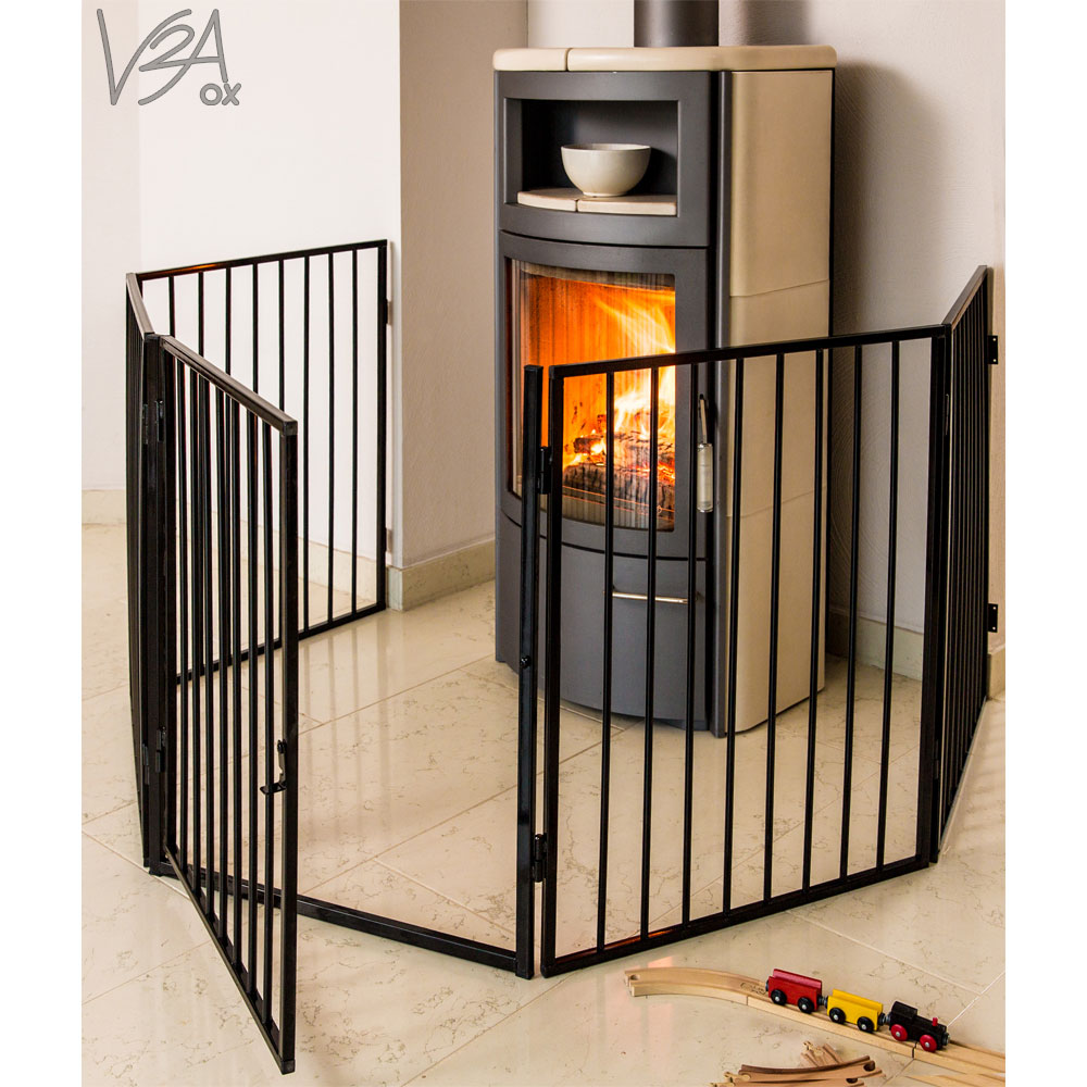 v2aox barri re de s curit enfant chemin e pare feu b b grille de protection ebay. Black Bedroom Furniture Sets. Home Design Ideas