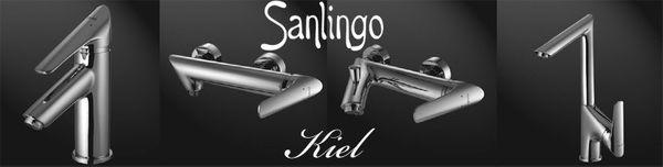 Designer Shower Mixer Taps Sanlingo Kiel Line – Bild 3
