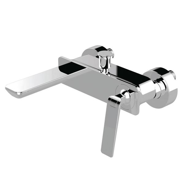 Modern Design Bath Bathtub Single Lever Tap Mixer Chrome Sanlingo BILA – Bild 2
