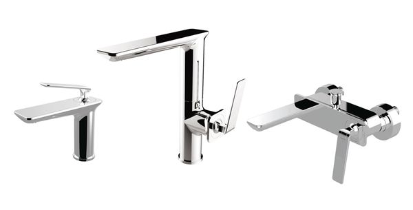Modern Design Bath Bathtub Single Lever Tap Mixer Chrome Sanlingo BILA – Bild 4