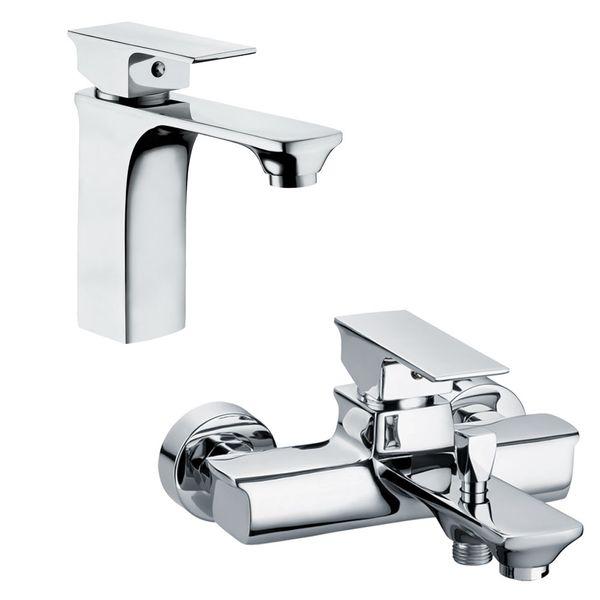 Sanlingo Waschbecken Waschtischarmatur Armatur Wasserhahn Mischbatterie Einhebelmischer Chrom Serie OLIS – Bild 4