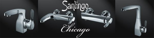 Designer Shower Mixer Taps Sanlingo Chicago Line – Bild 3