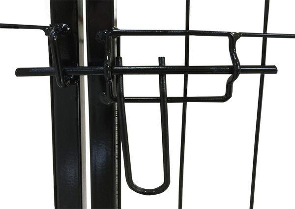 Petigi Tierlaufstall Welpenauslauf Freilaufgehege Freilauf Freigehege Auslauf Gehege Käfig Welpenzaun 60 x 80cm – Bild 4