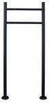 Briefkasten Standfuß Briefkastenständer Ständfüße Ständer Freistehend Schwarz 2 Füße V2Aox  001