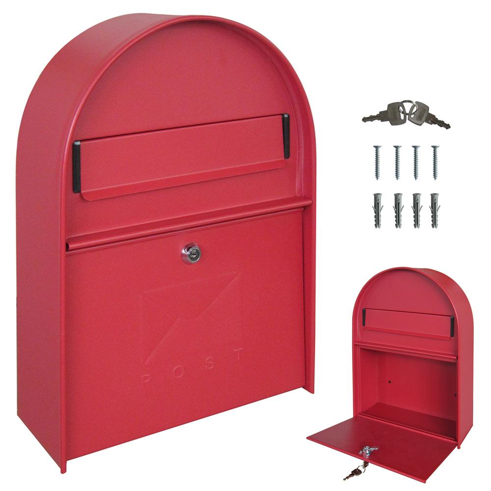 mur bo te aux lettres r tro antique nostalgie vintage 4 couleurs v2aox ebay. Black Bedroom Furniture Sets. Home Design Ideas