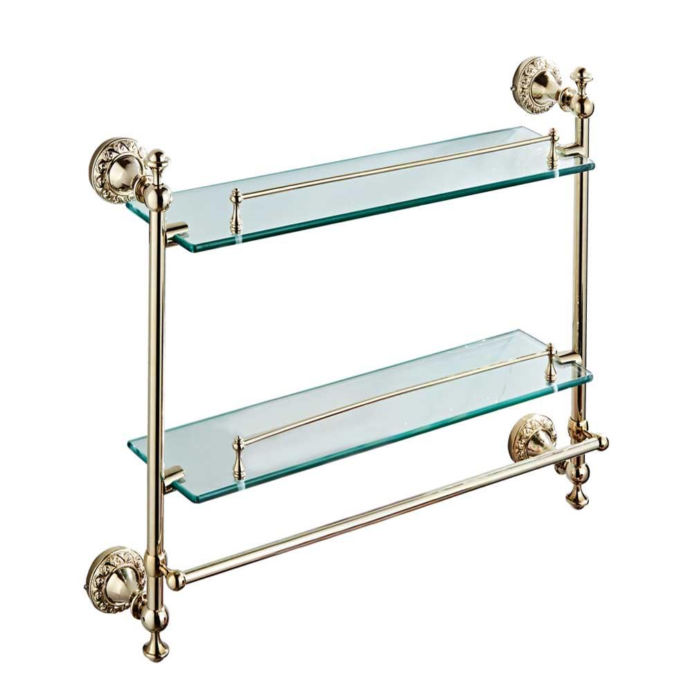 Bad Zwei Glasablage Ablage Seifenablage Wandmontage Glas Doppelt ...