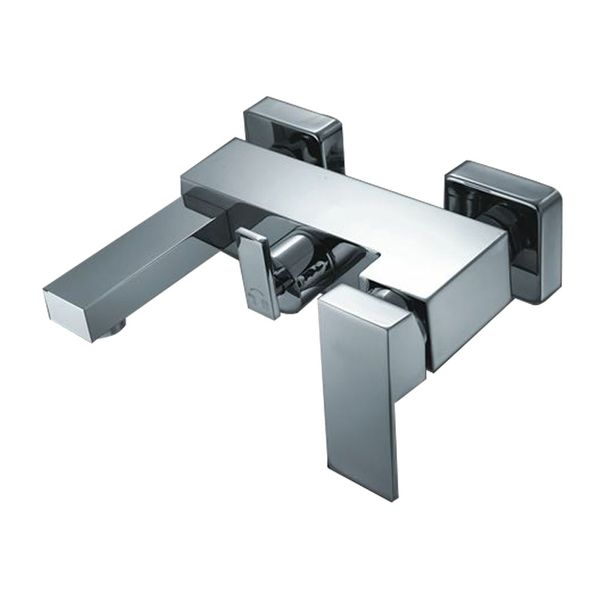 Design Single lever Faucet Bath Tub Chrome High Gloss Sanlingo Manchester – Bild 2