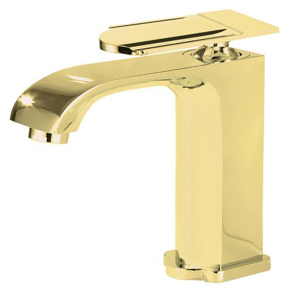 Waschbecken Waschtischarmatur Armatur Wasserhahn Mischbatterie Einhebelmischer Gold von Sanlingo – Bild 1