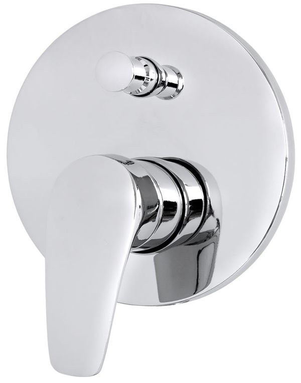 Concealed Shower Valve Diverter 2 way Round from Sanlingo – Bild 1