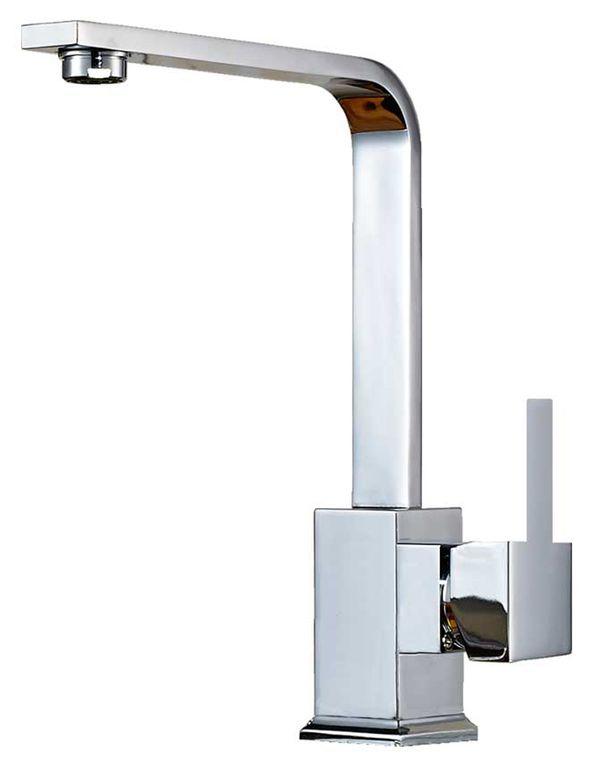 Bath Mono Tap Mixer Swivel Wash Basin Spout Chrome Sanlingo – Bild 1