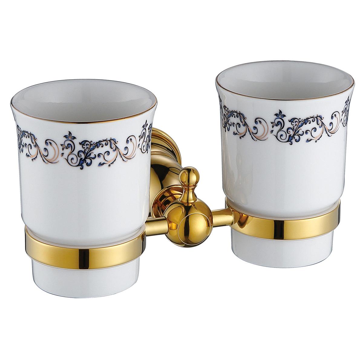 Gobelet Dents Accessoires Pour La Salle De Bain Dor S Or Sanlingo
