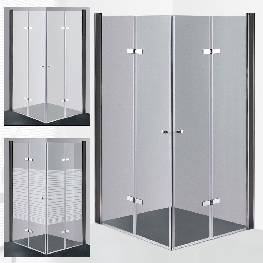 Glas faltt r duschkabine faltwand duschabtrennung duscht r duschwand versch ausf hrungen - Schwenkbare duschwand ...