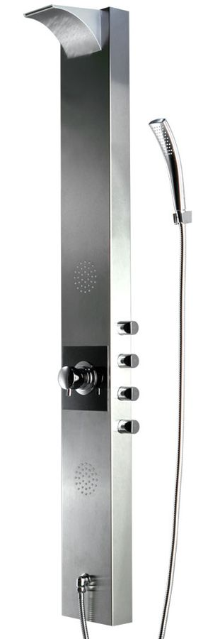 Stainless Steel Shower Panel Colum Anti-Fingerprint Rain Shower Massage Sanlingo – Bild 1