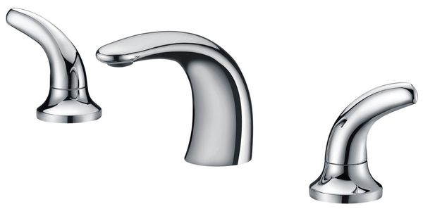 Modern Design 3 Hole Bathtub Water Tap Bath Chrome Sanlingo – Bild 1