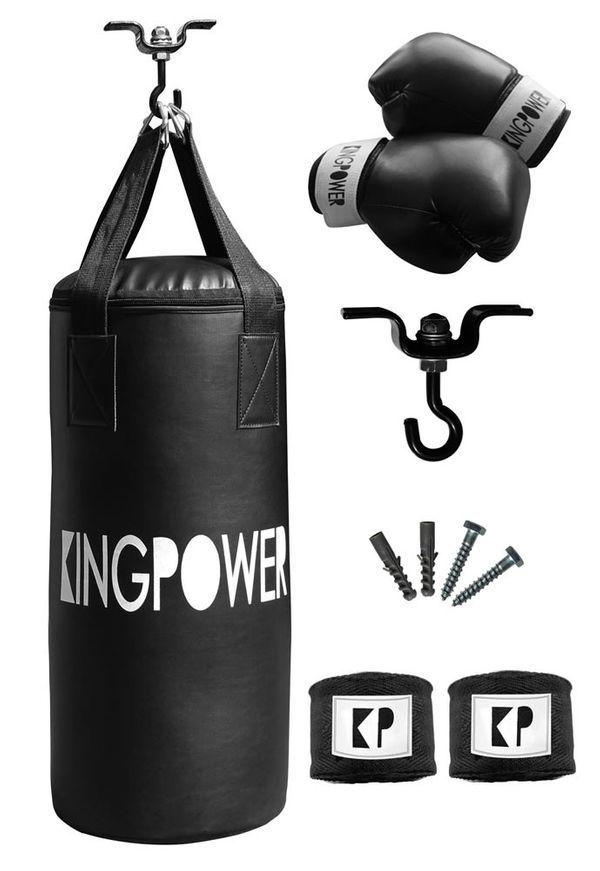 Auswahl Boxzubehör Boxset Boxsack Boxhandschuhe Bandagen Boxen Set Kingpower – Bild 3