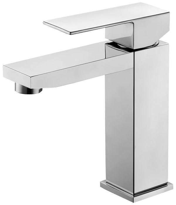 Waschbecken Waschtischarmatur Armatur Wasserhahn Einhebelmischer Mischbatterie Chrom Sanlingo