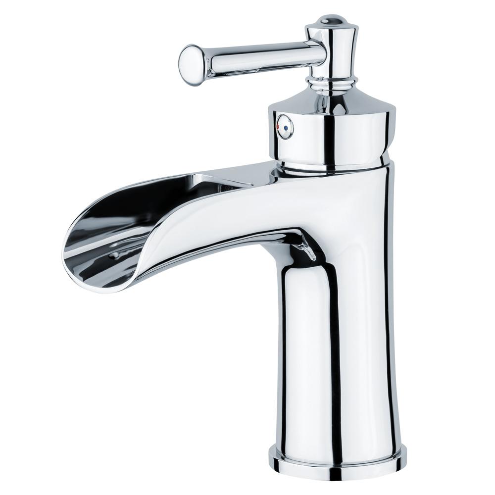 Retro Robinet Mitigeur Melangeur Lavabo Vasque Salle de Bain Chrome Sanlingo