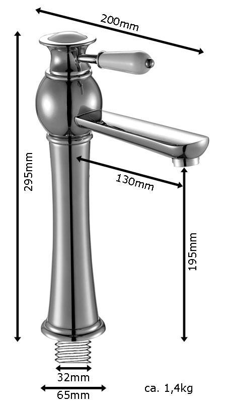 KOBA Series Retro Bath Bathroom Washbasin Washstand Washbowl Single Lever Water Tap Rose Red Gold Sanlingo – Bild 4