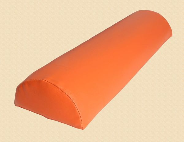 Halbrolle Knierolle Nackenrolle Massage Therapie Rolle orange – Bild 2