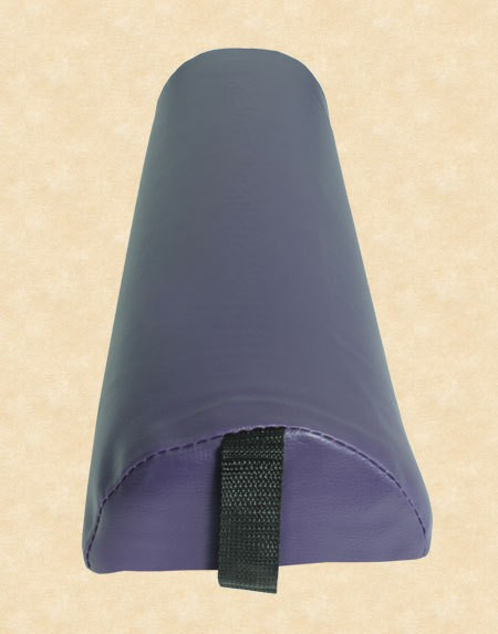 Halbrolle Knierolle Nackenrolle Massage Therapie Rolle violett lila purple – Bild 6