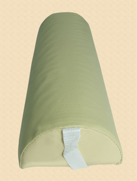 Halbrolle Knierolle Nackenrolle Massage Therapie Rolle gelb