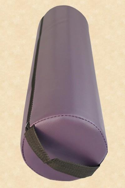 Knierolle Nackenrolle Massage Therapie Rolle Lagerungsrolle lila violett purple – Bild 3