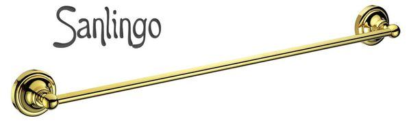 Bathroom Luxury Towel Bar Wall Mounting Gold Sanlingo Series MARA – Bild 1