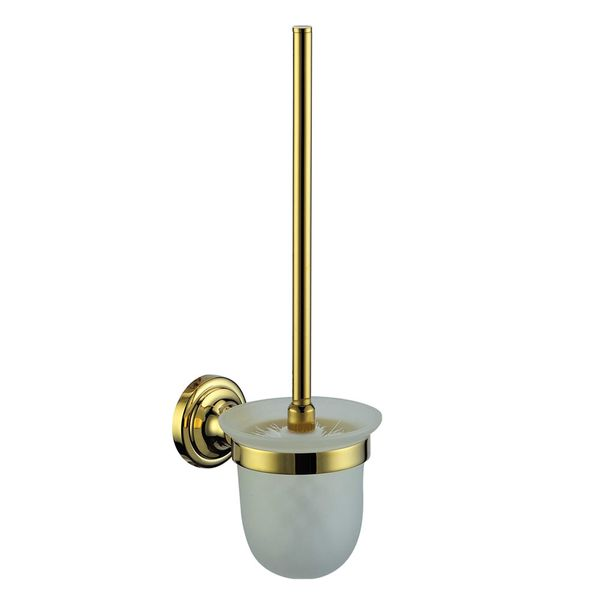 Luxury Toilet Brush WC Lavatory Bathroom Gold Design Sanlingo – Bild 2