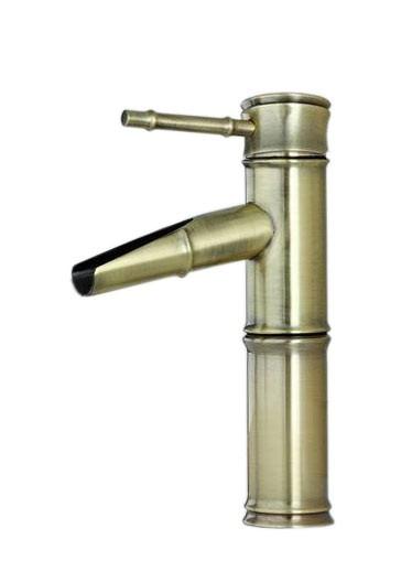 Einhebel Armatur Nostalgie Retro Waschbecken Antik Bronze Sanlingo Pumpe