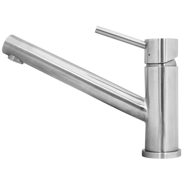 Kitchen Sink Mixer  real brushed Stainless Steel 100% Rotatable - from Sanlingo – Bild 1