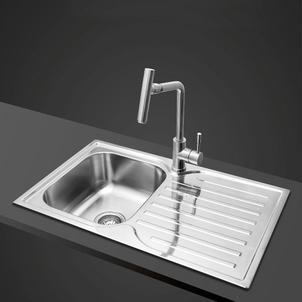Kitchen Sink Mixer  - real brushed Stainless Steel 100% - from Sanlingo – Bild 2