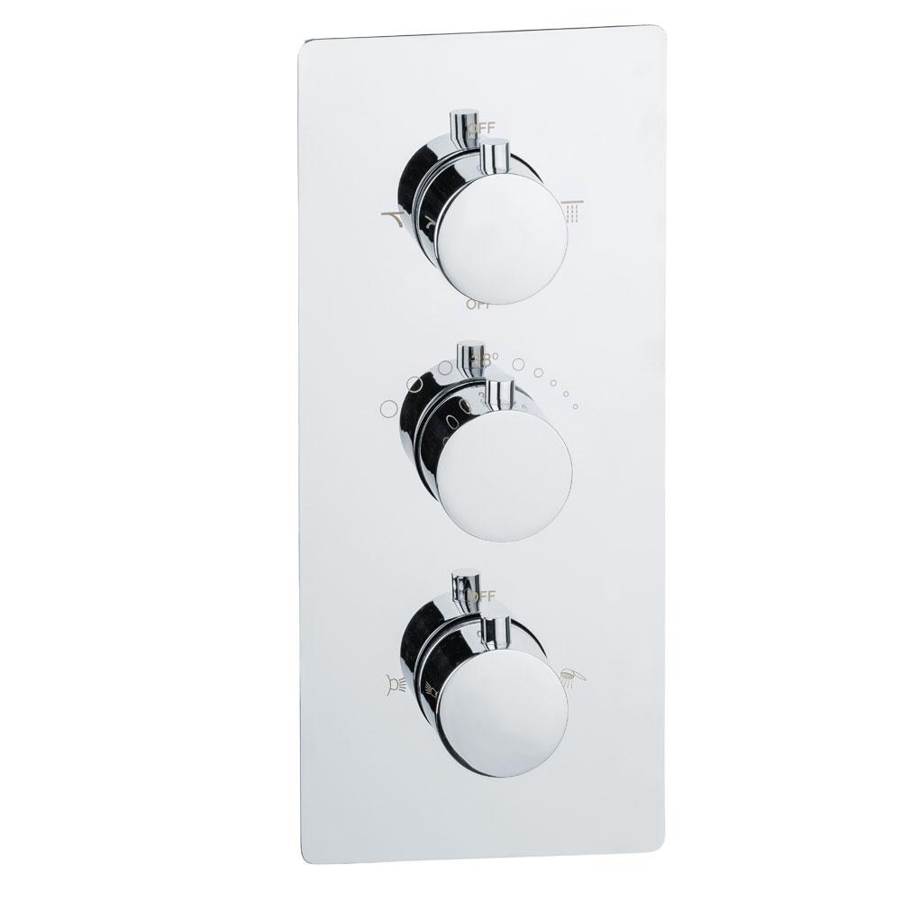 Dusche Unterputz Thermostat Vier Wege Mischbatterie Wannenarmatur