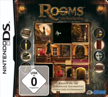[A] Gebraucht: (Modul) Rooms: The Main Building - DS - Nintendo DS